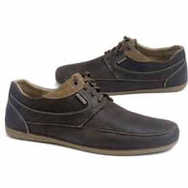 Мокасины мужские shk-28-383-brown-leater