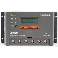Контролер 20А 12В/24В с дисплеєм + USB гніздо (Модель-DY2024), JUTA