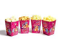 """Коробки для попкорну """"Little Pony"""" В пак. 5 шт."""