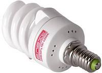Лампа енергозберігаюча e.save.screw.E14.15.2700,T2 тип screw, цоколь Е14, 15W, 2700 К, колба T2