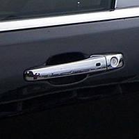 Накладки на дверные ручки хромированные Jeep Grand Cherokee 2011-2013