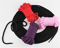 Веревка хлопковая (для связывания )10 м, фото 1