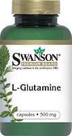 L-глютамин 500 мг 100 капс США