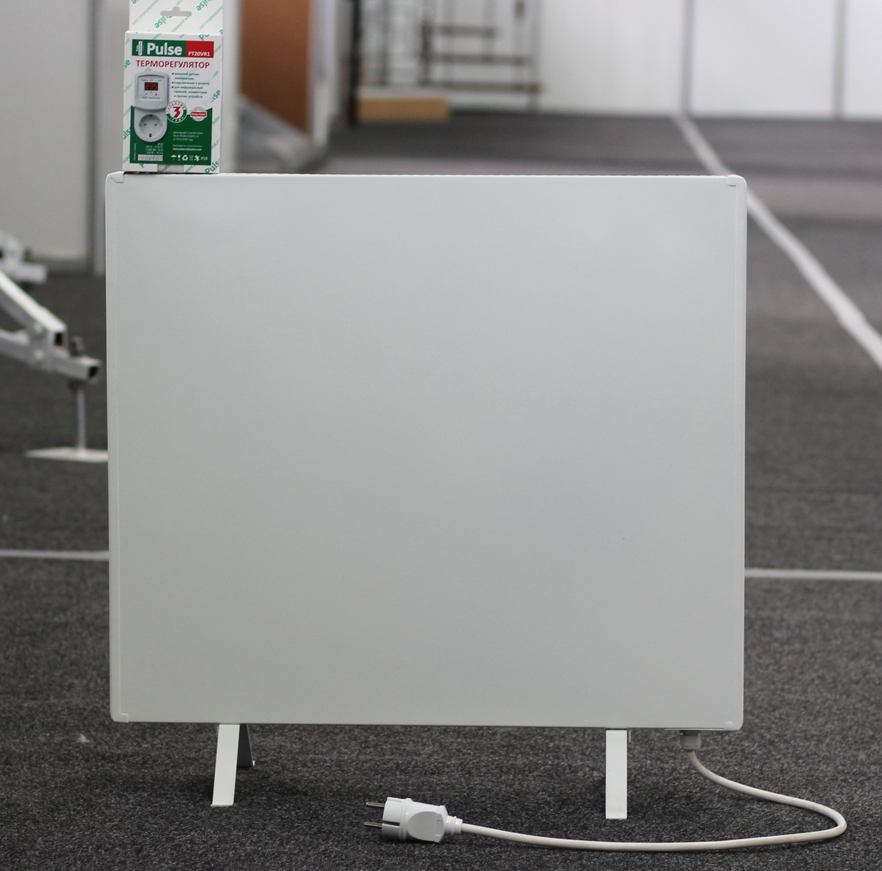 Електрична теплова панель Pulse 300 (600mm) + терморегулятор