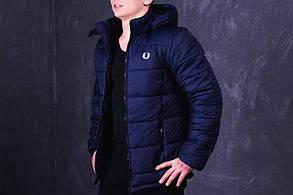 Куртка Fred Perry (Фред Перри) Promo, темно-синяя
