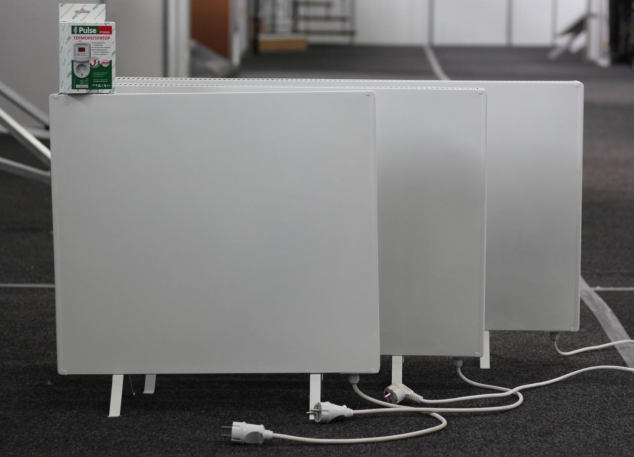 Тепловая электрическая панель Pulse 650 (1000mm) + терморегулятор