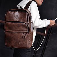 Мужской кожаный рюкзак. Модель с4-1