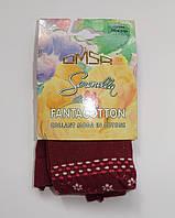 Детские колготы Omsa вишня