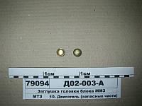 ММЗ Д02003А  Заглушка головки блока (пр-во ММЗ)