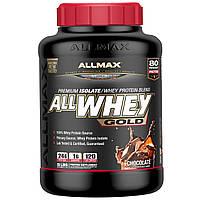 Премиум изолят / смесь сывороточного протеина Шоколад, ALLMAX AllWhey Gold Chocolate (2.27 kg)