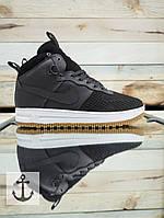 Кроссовки мужские зимние  Nike Lunar Force на меху