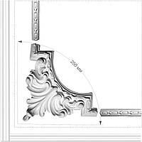 Декоративний кутик рамки / Гипсовый лепной декор