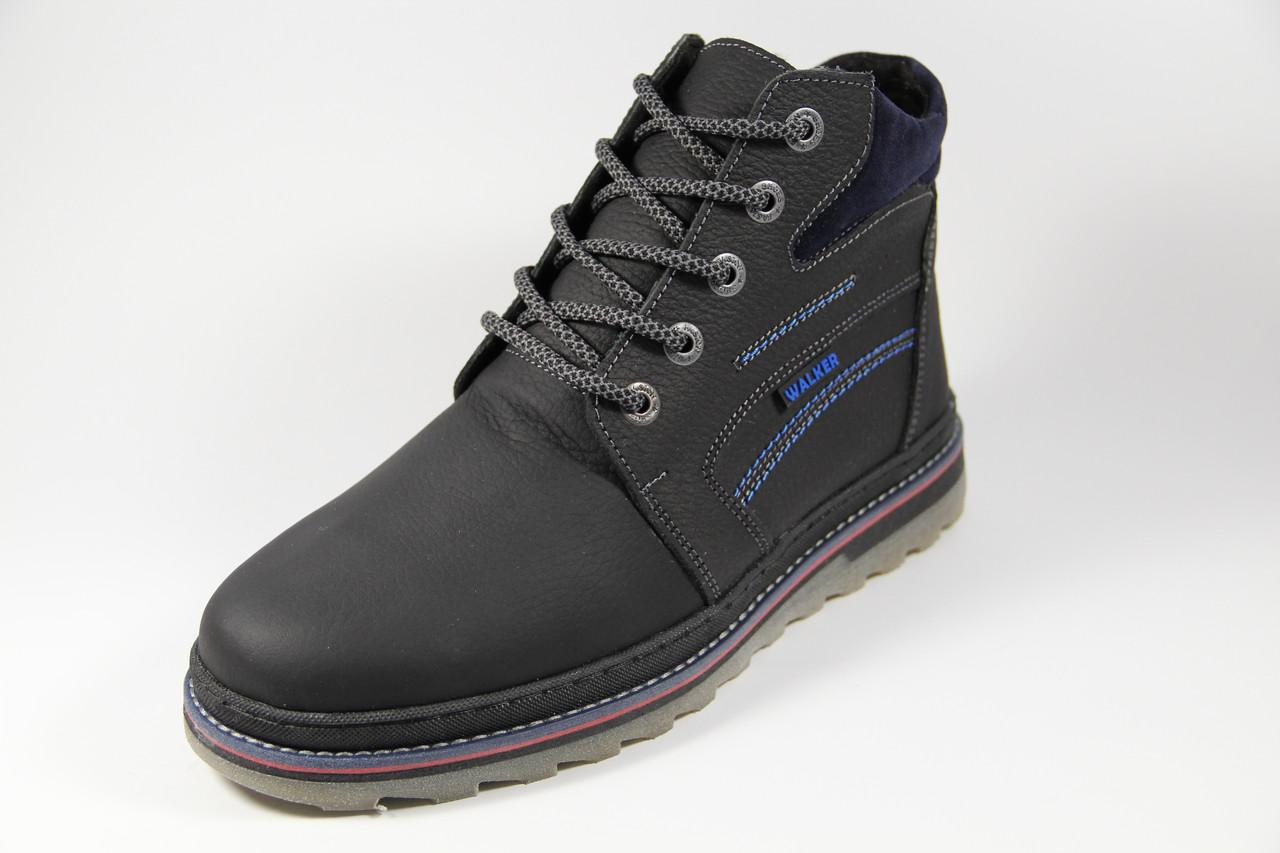 Мужские ботинки из натуральной кожи WAL 46 BBL