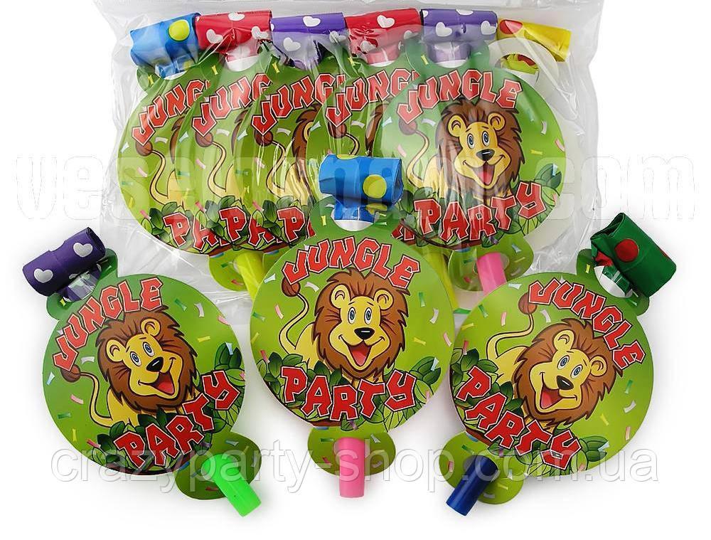 Дудочки-язычки праздничные на детский праздник