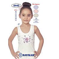 Майка детская для девочки Зайка-хозяйка ТМ Baykar 95% хлопок р.0 (86-92 см) Турция
