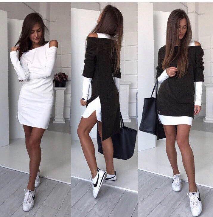 платье двойка фото