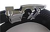 Ремень мужской кожаный GIORGIO ARMANI 3,5см (пряжкой автомат) ремень АРМАНИ под брюки ЧЕРНЫЙ (реплика), фото 2