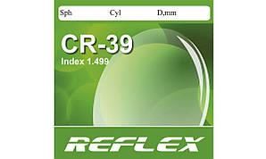 Полимерная астигматическая линза CR-39 Reflex. Индекс 1,499.