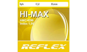Полимерная астигматическая компьютерная линза Reflex с покрытием EMI. Индекс 1,56.