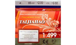 Полимерная астигматическая линза CR-39 Taijiahao. Индекс 1,499.