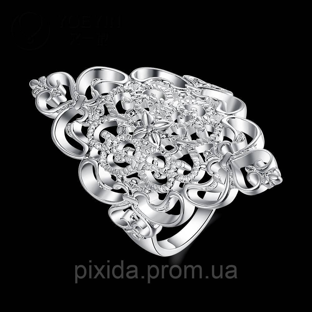 Кольцо Снегурочки  покрытие 925 серебро проба