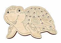 Шнуровка деревянная, «Черепаха»