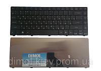 Оригинальная клавиатура для ноутбука Acer Aspire 3810, 3820, eMachines D440, 528, 640, 730, ru, black