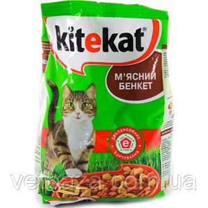 Корм коты Китикет 400г мясной банкет