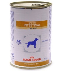 Royal Canin GASTRO-INTESTINAL LOW FAT диета с ограниченным содержанием жиров, нарушениях пищеварения у собак