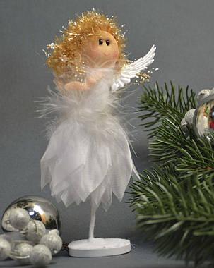Новогодние украшения Ангелочек   лепестки стоящий    0253, фото 2
