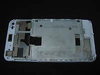 Дисплей сенсор рама Nomi i5030 EVO X белый оригинал