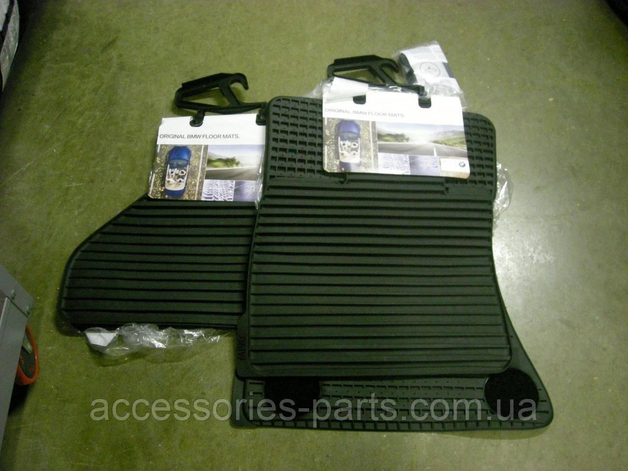 Комплект резиновых ковриков BMW X5 E70 07-2013 Новый Оригинальный