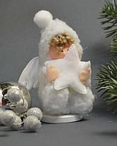 Новогодние украшения Ангелочек  пупс стоящий  0264, фото 2