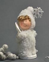 Новогодние украшения Ангелочек  пупс стоящий  0264, фото 3