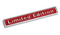 3D автомобильная эмблема  Limited Edition красная, фото 1