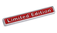 3D эмблема  Limited Edition красная
