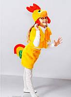 """Детский карнавальный костюм """"Петух"""" мех"""