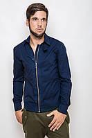Мужская рубашка, синий 3221 M