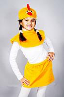 """Детский карнавальный костюм """"Цыпленок"""" мех"""
