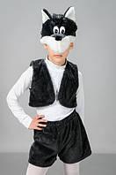 """Детский карнавальный костюм """"Волк"""" мех"""