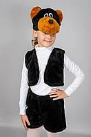 """Детский карнавальный костюм """"Медведь"""" мех"""