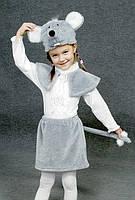 """Детский карнавальный костюм """"Мышонок"""" мех, фото 1"""