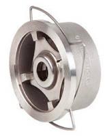 Клапан обратный пружинный нж .сталь, Genebre Ду 32