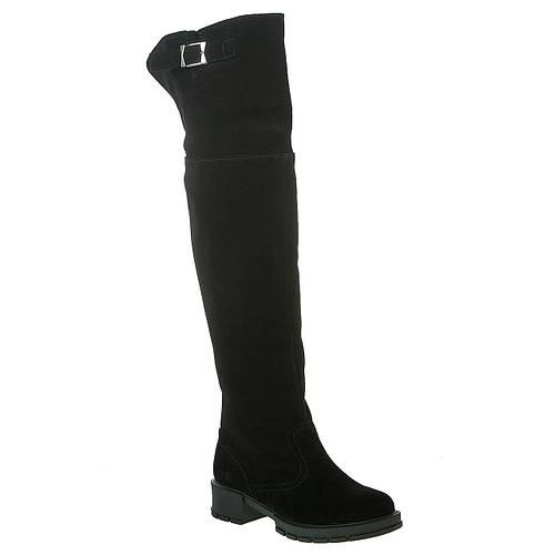 eda8c1e51098 Ботфорты женские Frivoli (замшевые, на низком каблуке, удобные, стильные)
