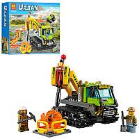 """Конструктор Bela 10639 (аналог Lego City 60122) """"Гусеничная машина исследователей вулканов"""", 342 дет"""