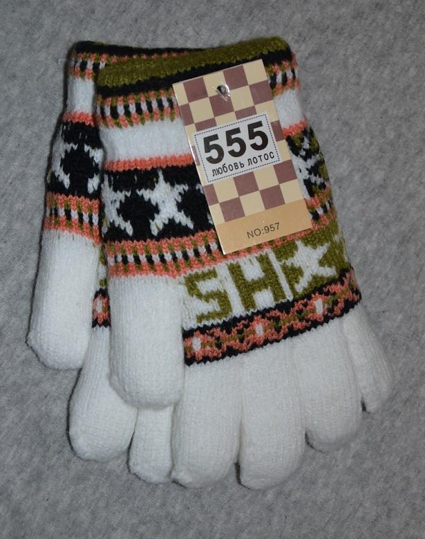 Перчатки детские зимние для девочки