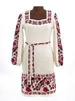 Лляне жіноче плаття