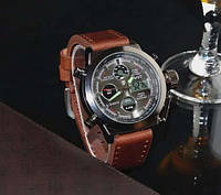 Часы армейские Противоударные Водонепроницаемые AMST AM3003