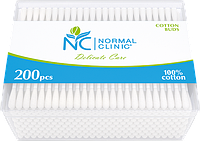 NORMAL cliniс -( квадратная коробка 200 шт)