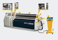 Вальцы листогибочные гидравлические трехвалковые серии MRM-H производства компании «SAHINLER»